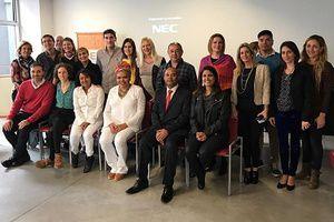 Clases y actividades educativas en el segundo intercambio entre Brasil y Argentina