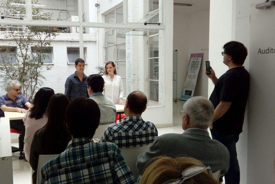 Relanzamiento del programa Ágora destinado a personas con discapacidad visual