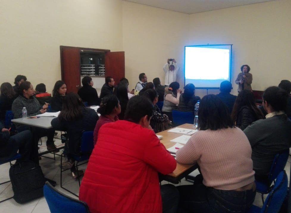 Miembros de la RIET unidos para brindar capacitación docente en México